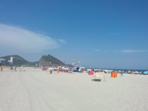 Copacabana mot nord
