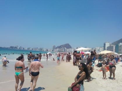 Copacabana mot sør