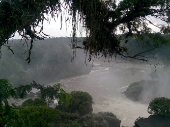 Elva under vannfallene