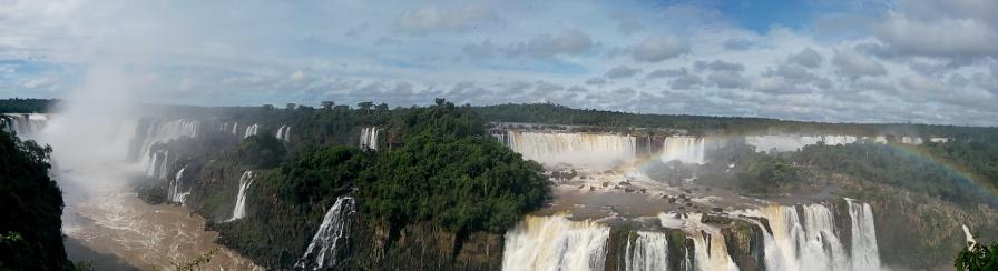 Panorama fra Brasil