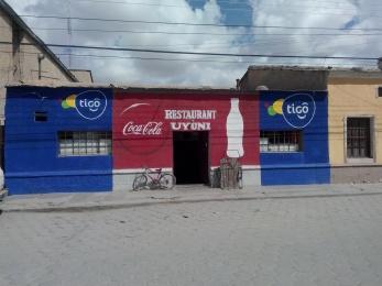 Restaurant i Uyuni