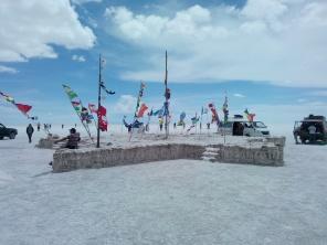 Monument i saltørken