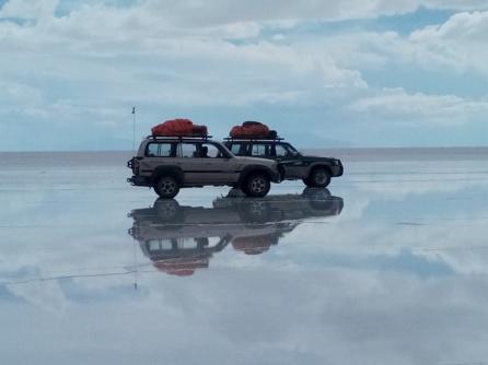 4WD i saltørken