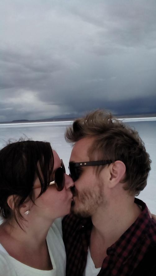 Kyss i Uyuni