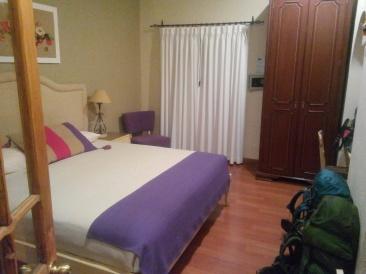 Hotellrommet på Hotel Rosario