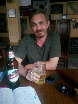 Thomas på engelsk pub