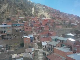 Fjellskråning i La Paz