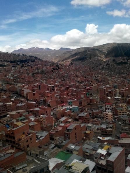 Utsikt over La Paz