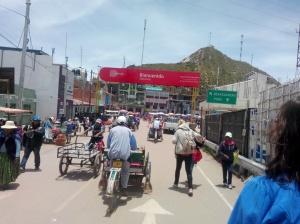 Grensen mellom Bolivia og Peru