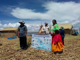 Foredrag om Titicacasjøen
