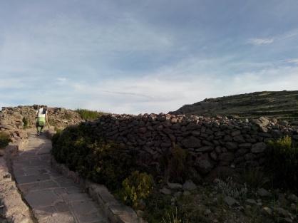På vei opp til Pachamama