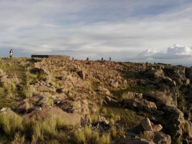 Tempelruinene på Pachamama