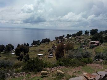 Gårder på Taquile