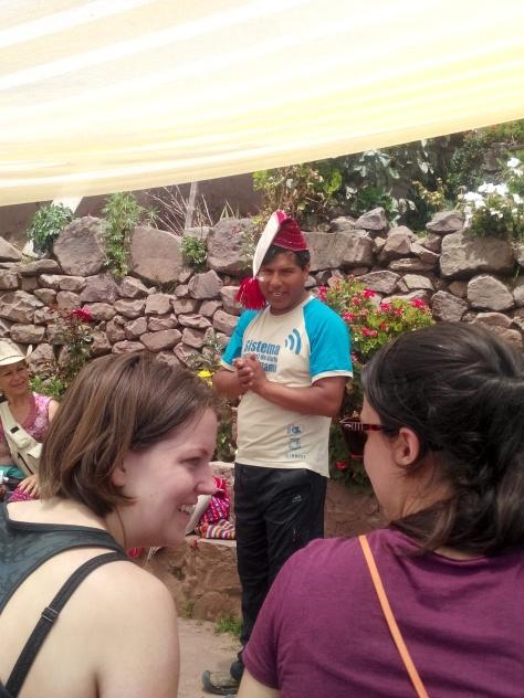 Guiden med lue fra Taquile