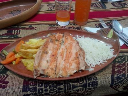 Lunsj på Taquile