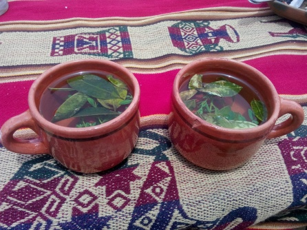 Coca-te på Taquile