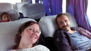 På bussen fra Puno til Cusco