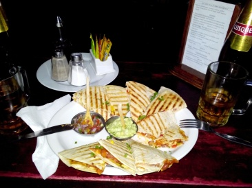 Beste quesadillaen, Cusco