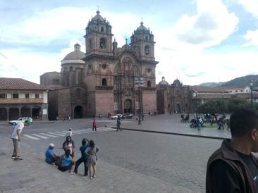 Ei kirke på Plaza de Armas, Cusco