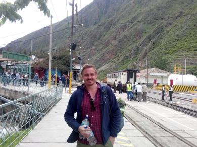 Thomas på togstasjonen, Ollantaytambo