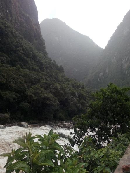 Vakker natur, Aguas Calientes