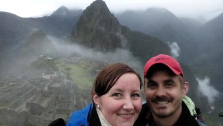 Oss over Machu Picchu