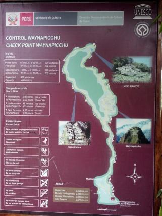 Forklaring om Wayna Picchu