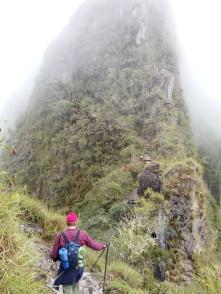 Wayna Picchu i skyene