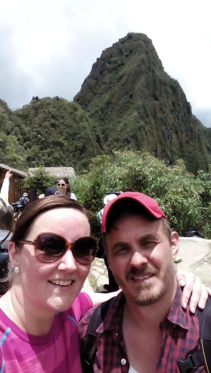 Nede fra Wayna Picchu