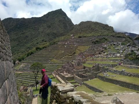 Terrasser på Machu Picchu
