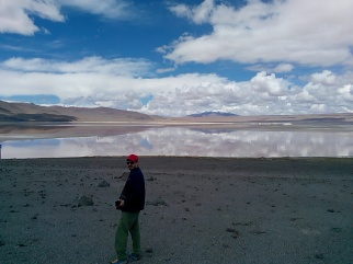 Thomas foran den røde lagune