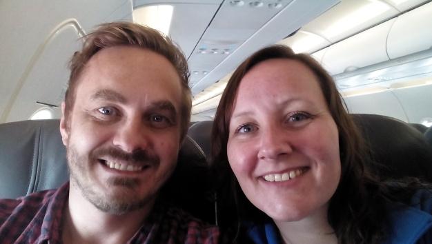 På flyet til Puerto Maldonado