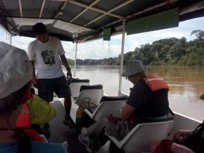 Leao og de andre i elvebåten