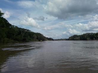 På Tambopataelven