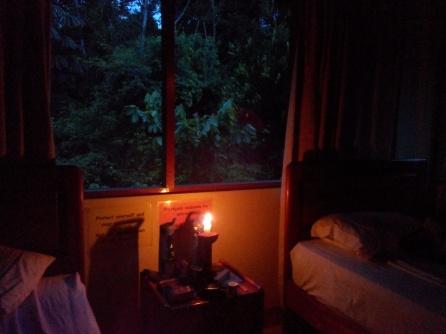 Snart natt i jungelen