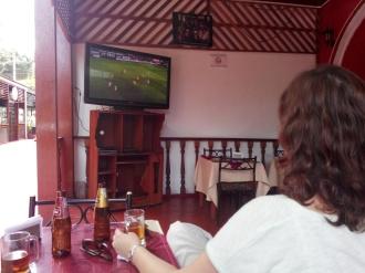 Målfrid ser Arsenal-kamp