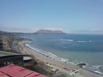Utsikt fra Larcomar, Miraflores