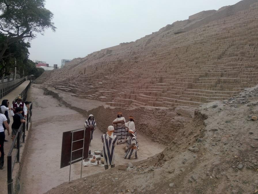 Pyramide i Huaca Pucllana