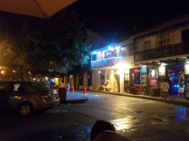 Gatebildet tatt fra stamsted, Cartagena