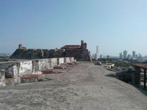 På toppen av fortet