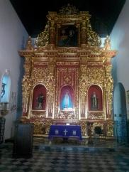 Et kapell inne i klosteret
