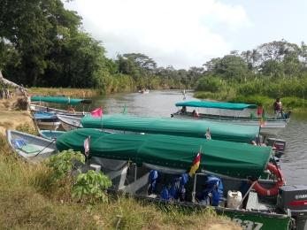 Båtene til Kunaindianerne