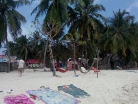 Håndklær på stranden