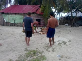 Fersk kokosnøtt