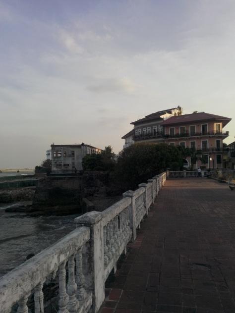Gamlebyen i Panama City