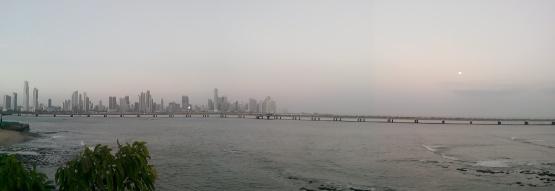 Panama City panorama