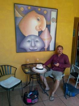 Innsjekk på hotell Estrada