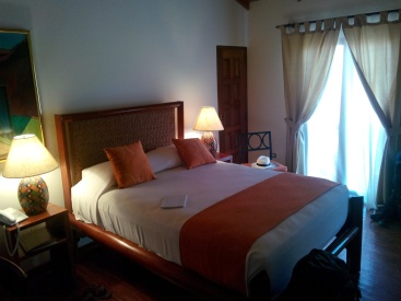 Hotellrommet på hotell Estrada