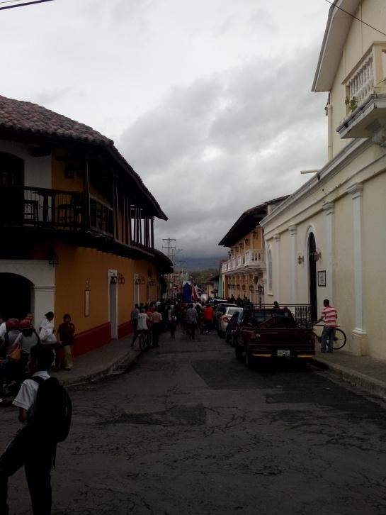 Relgiøs prosesjon i Granada