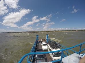 Vind og bølger på Nicaraguasjøen